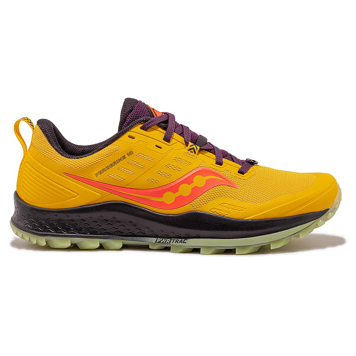 Men's Saucony Jackalope 2.0 Peregrine 10 Trail Running Shoe - Color: Jackalope - Size: 7 - Width: Regular, Jackalope, large, image 1