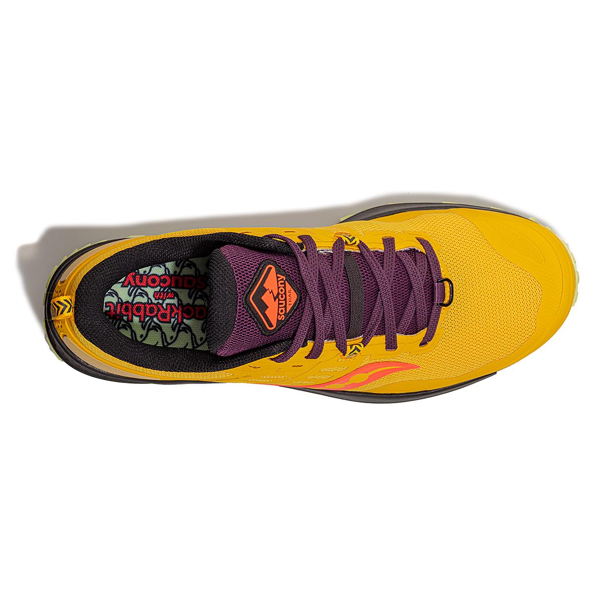 Men's Saucony Jackalope 2.0 Peregrine 10 Trail Running Shoe - Color: Jackalope - Size: 7 - Width: Regular, Jackalope, large, image 2
