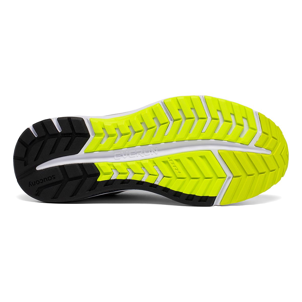 Men's Saucony Omni 19 Running Shoe - Color: Fog/Citrus - Size: 7 - Width: Regular, Fog/Citrus, large, image 5