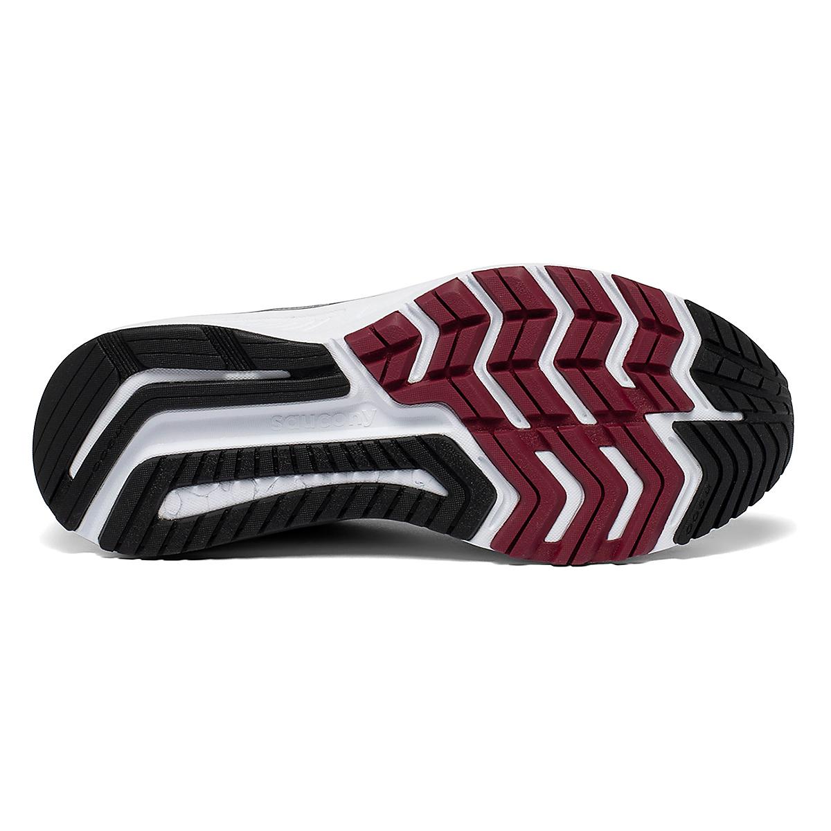 Men's Saucony Omni 19 Walking Shoe - Color: Alloy/Brick - Size: 7 - Width: Wide, Alloy/Brick, large, image 4