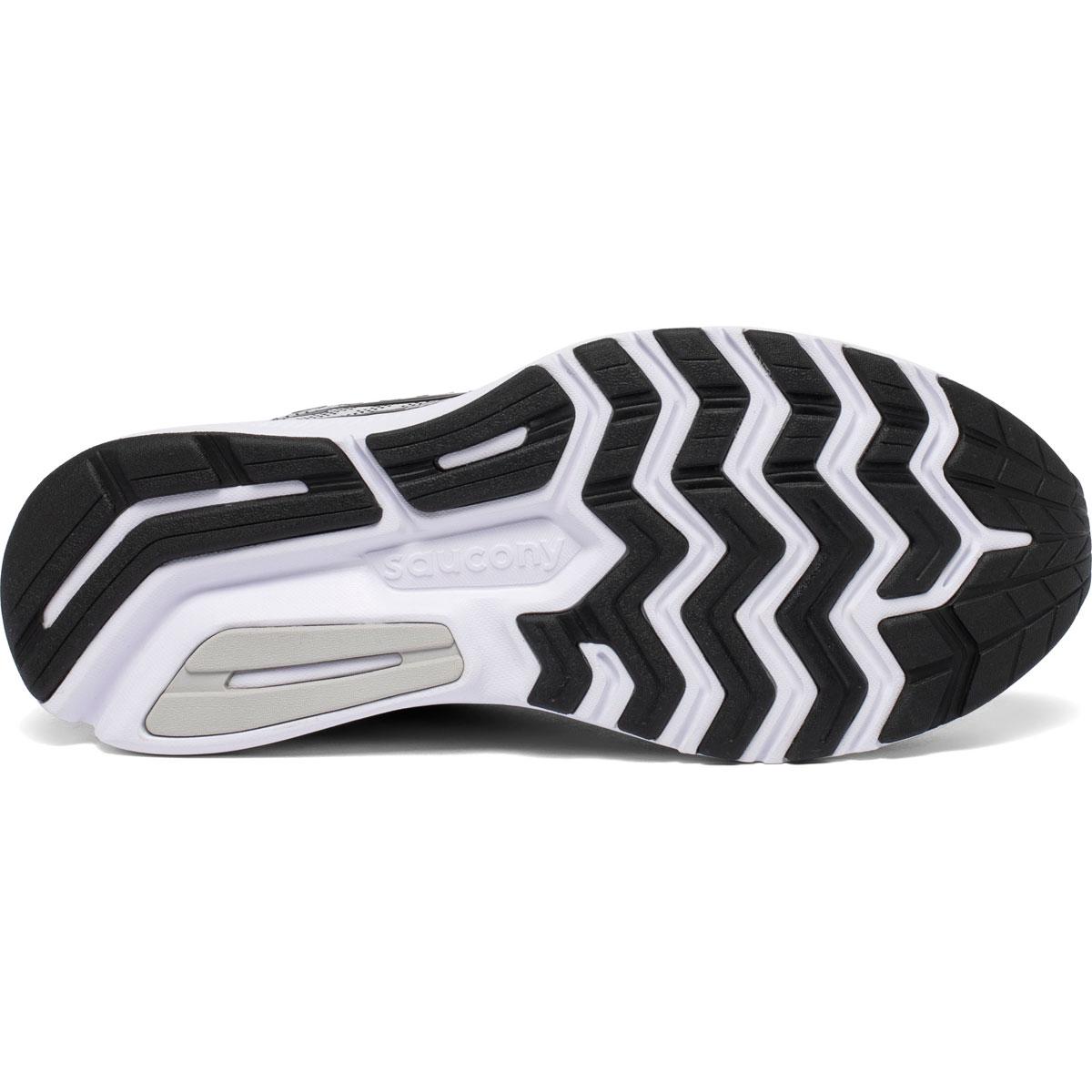 Men's Saucony Ride 13 Running Shoe - Color: Alloy/Black - Size: 7 - Width: Regular, Alloy/Black, large, image 4