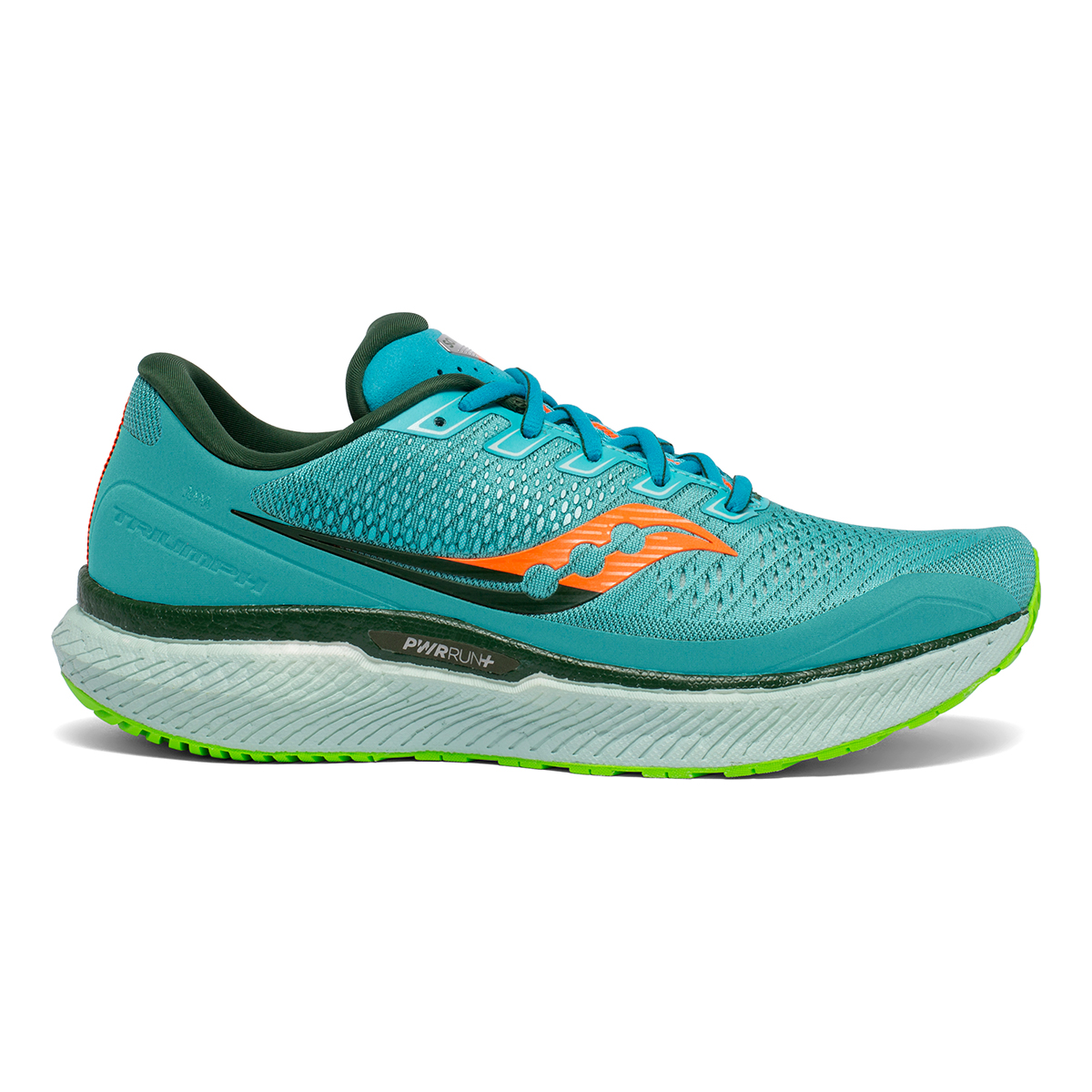 Men's Saucony Triumph 18 Running Shoe - Color: Future/Blue - Size: 7 - Width: Regular, Future/Blue, large, image 1