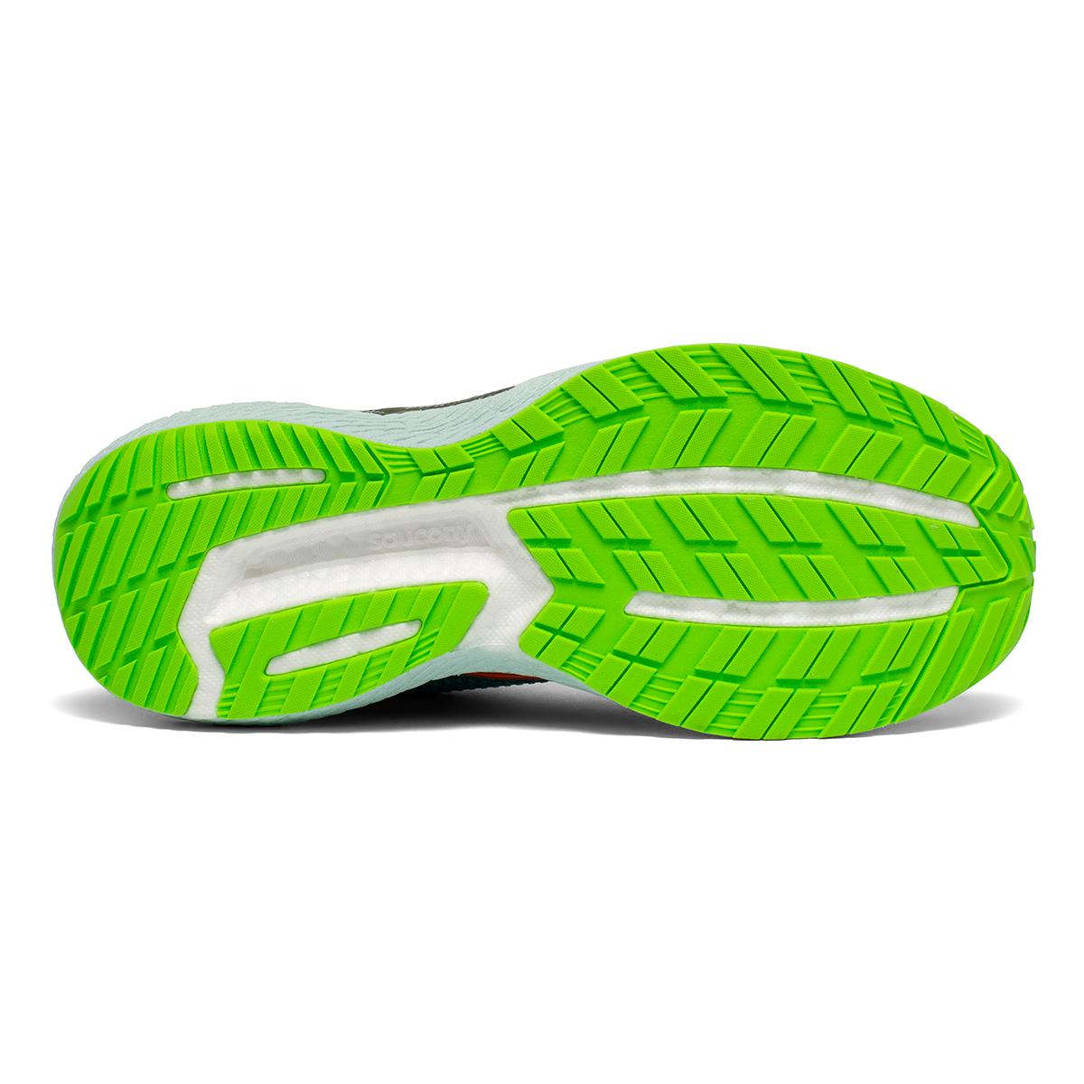 Men's Saucony Triumph 18 Running Shoe - Color: Future/Blue - Size: 7 - Width: Regular, Future/Blue, large, image 2