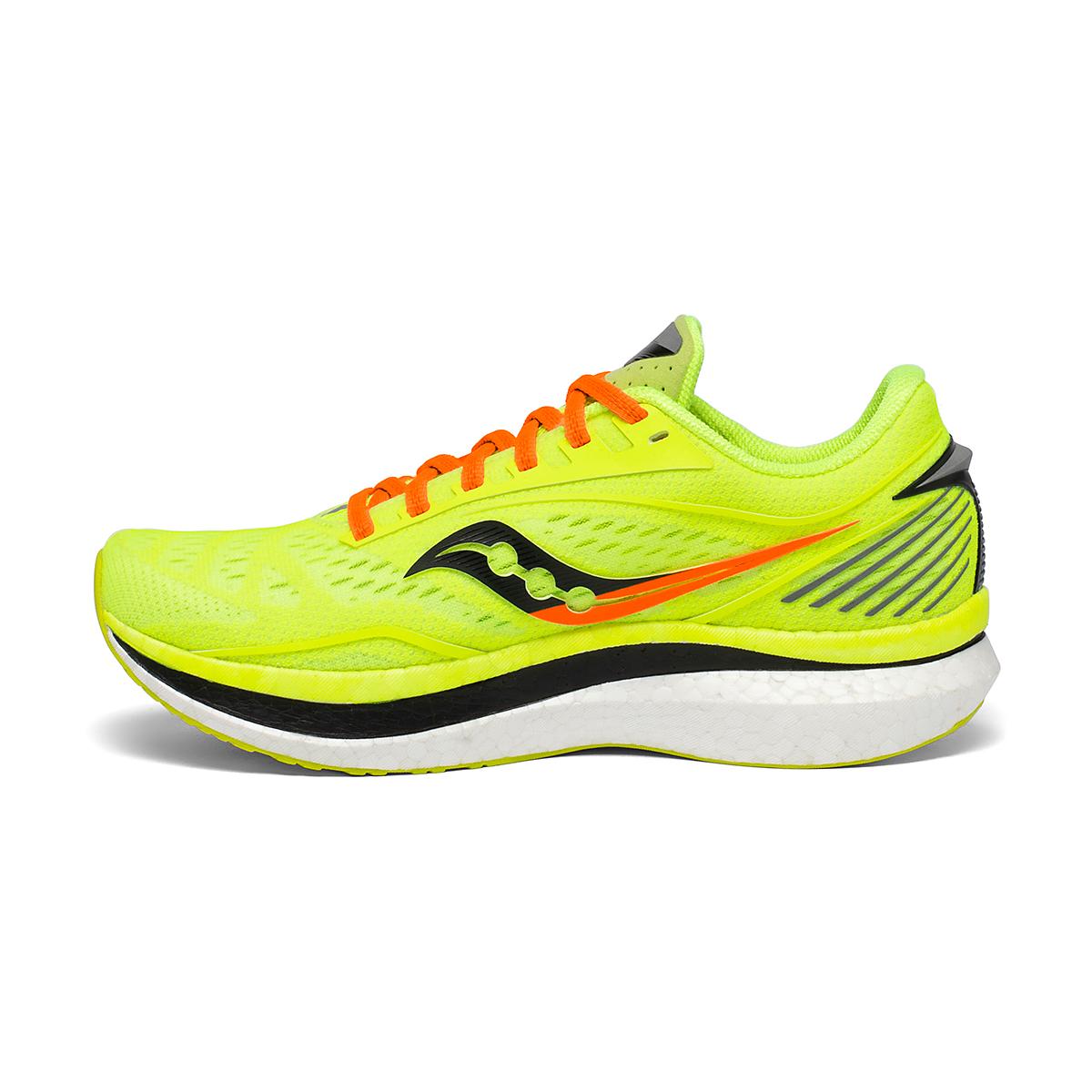 Men's Saucony VIZIPRO Speed Endorphin Speed Running Shoe - Color: Citron - Size: 7 - Width: Regular, Citron, large, image 2