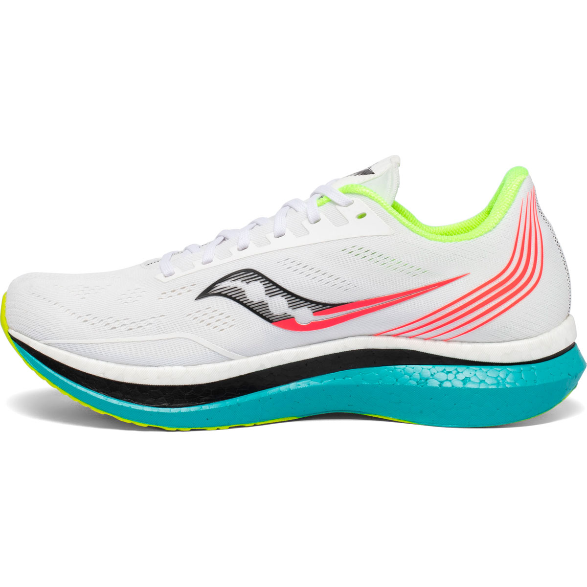 Men's Saucony Endorphin Pro Running Shoe - Color: White Mutant (Regular Width) - Size: 7, White Mutant, large, image 3