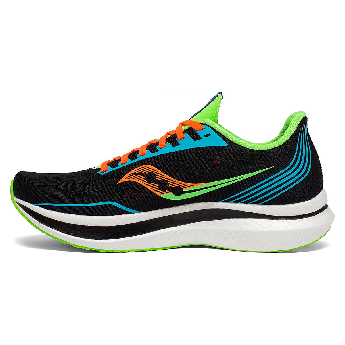 Men's Saucony Endorphin Pro Running Shoe - Color: Future/Black - Size: 7 - Width: Regular, Future/Black, large, image 2