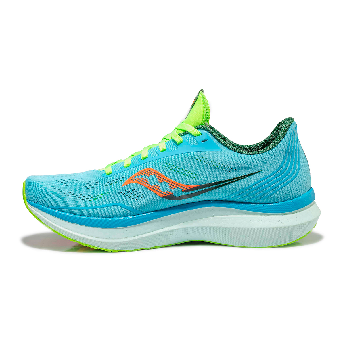 Men's Saucony Endorphin Pro Running Shoe - Color: Future/Blue - Size: 7 - Width: Regular, Future/Blue, large, image 2