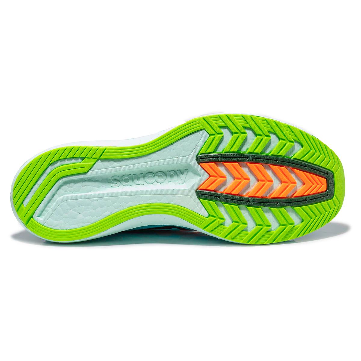 Men's Saucony Endorphin Pro Running Shoe - Color: Future/Blue - Size: 7 - Width: Regular, Future/Blue, large, image 4