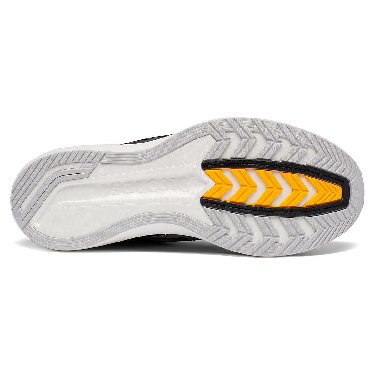 Men's Saucony Endorphin Pro Running Shoe - Color: Black/Silver - Size: 7 - Width: Regular, Black/Silver, large, image 5