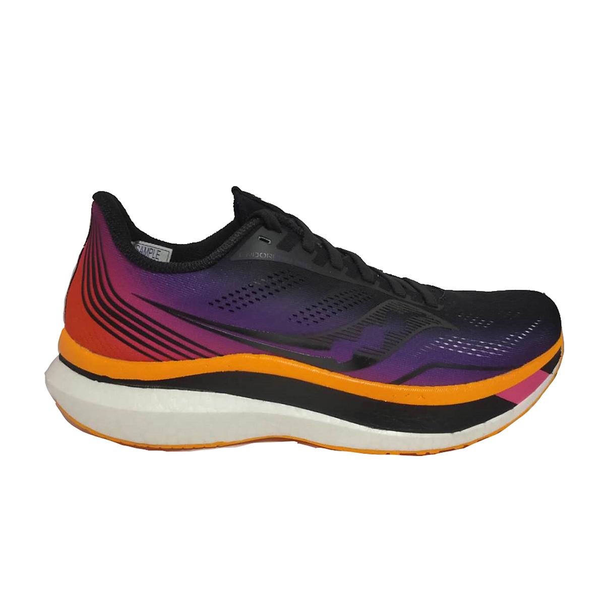 Men's Saucony Endorphin Pro Running Shoe - Color: Sunset - Size: 7 - Width: Regular, Sunset, large, image 1