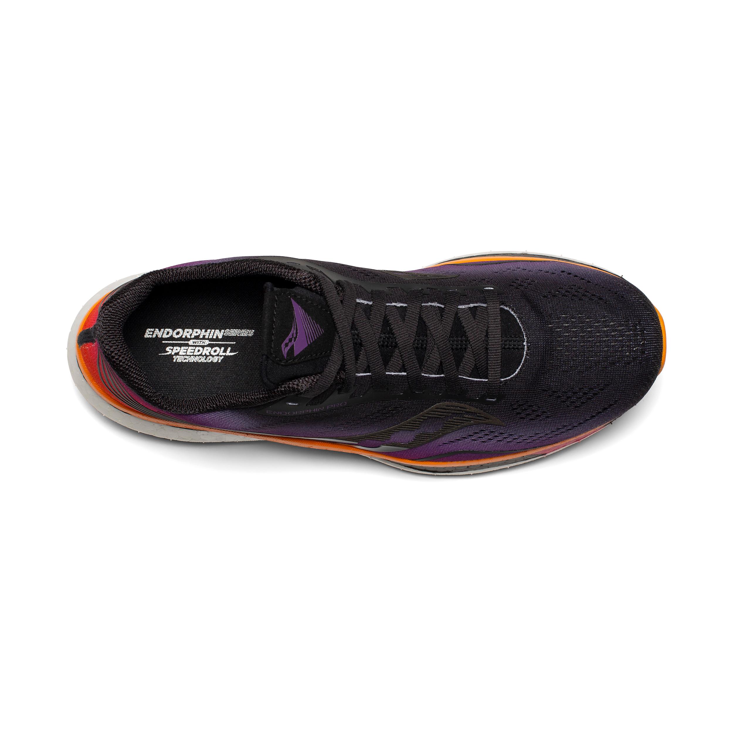 Men's Saucony Endorphin Pro Running Shoe - Color: Sunset - Size: 7 - Width: Regular, Sunset, large, image 3
