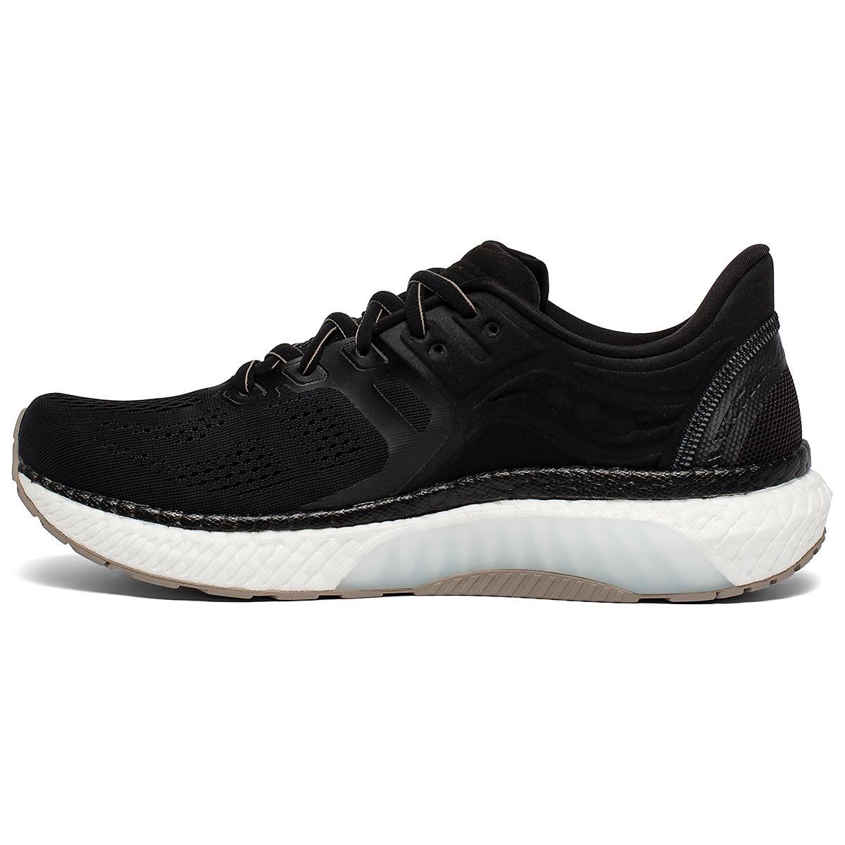 Men's Saucony Hurricane 23 Running Shoe - Color: Black/Vizigold - Size: 7 - Width: Regular, Black/Vizigold, large, image 2
