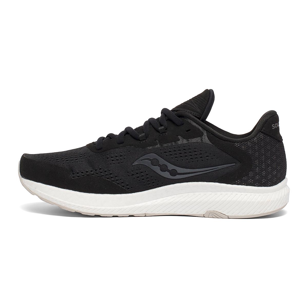 Men's Saucony Freedom 4 Running Shoe - Color: Black/Stone - Size: 7 - Width: Regular, Black/Stone, large, image 2