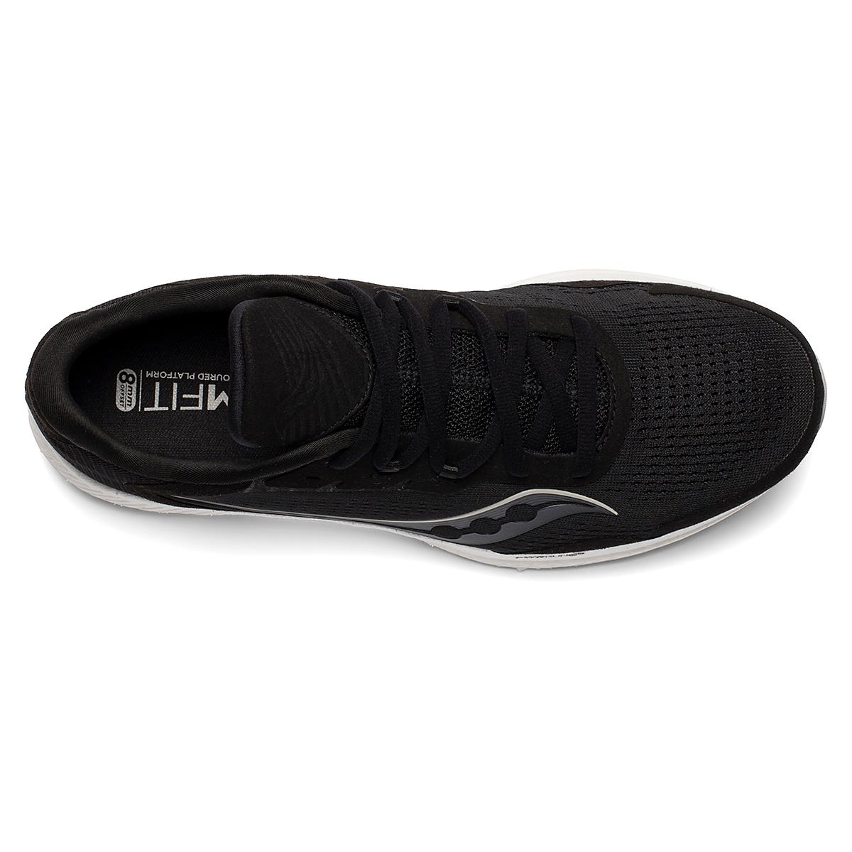Men's Saucony Freedom 4 Running Shoe - Color: Black/Stone - Size: 7 - Width: Regular, Black/Stone, large, image 4