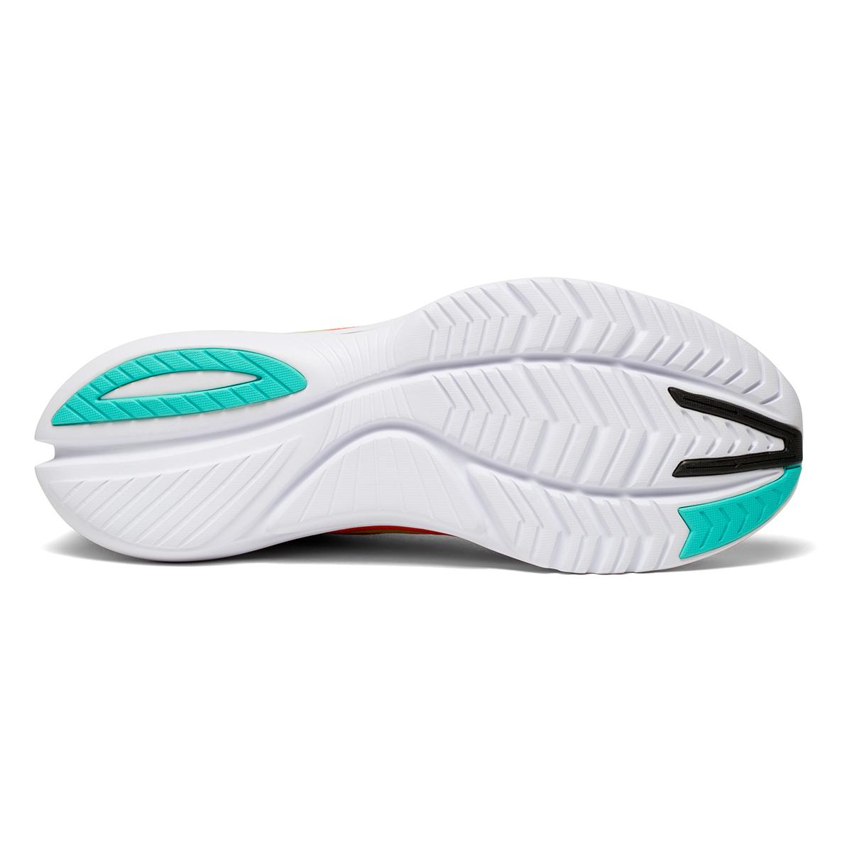 Men's Saucony Kinvara 12 Running Shoe - Color: Vizi/Scarlet - Size: 7 - Width: Regular, Vizi/Scarlet, large, image 5