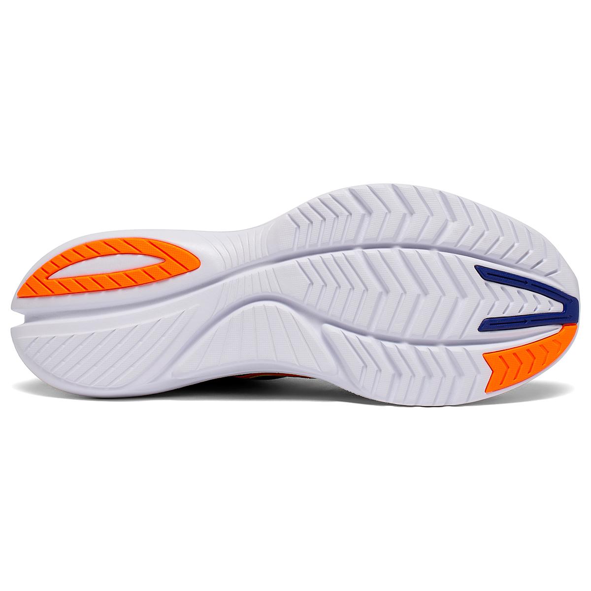 Men's Saucony Kinvara 12 Running Shoe - Color: Future/Black - Size: 7 - Width: Regular, Future/Black, large, image 5