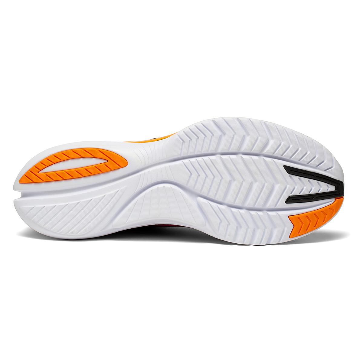 Men's Saucony Kinvara 12 Running Shoe - Color: Sunset - Size: 7 - Width: Regular, Sunset, large, image 4