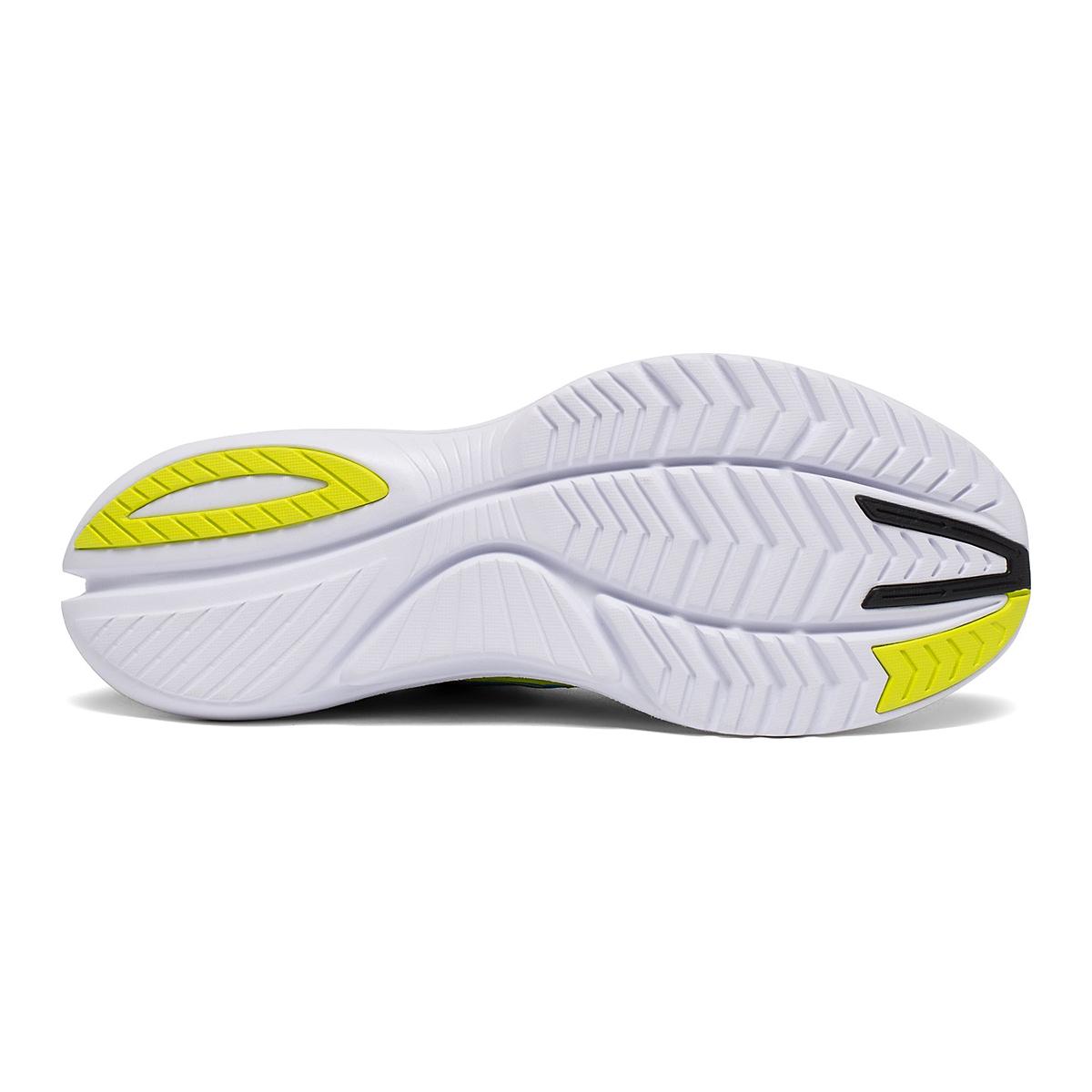 Men's Saucony Kinvara 12 Running Shoe - Color: Cobalt/Citrus - Size: 7 - Width: Regular, Cobalt/Citrus, large, image 4