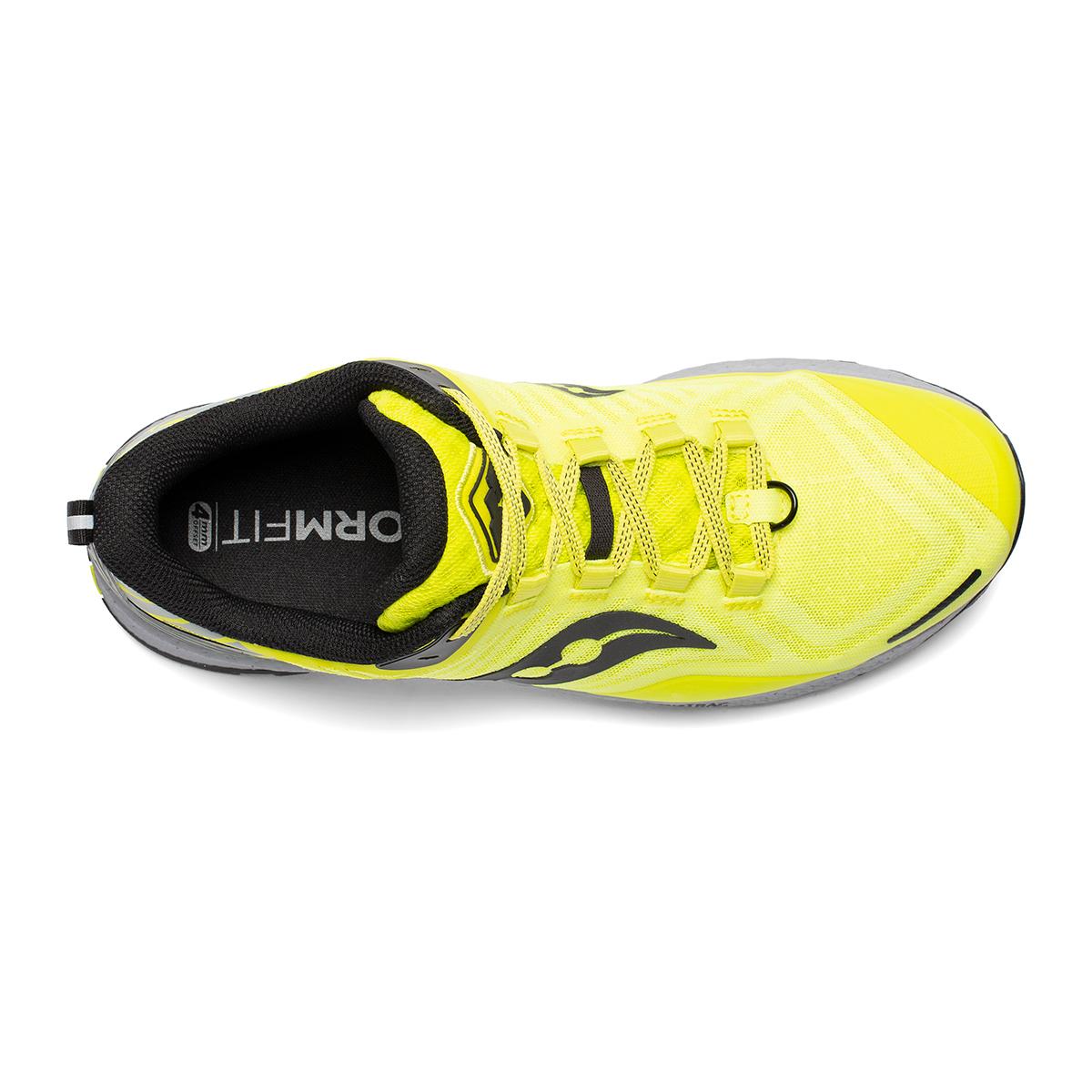 Men's Saucony Xodus 11 Trail Running Shoe - Color: Citrus/Alloy - Size: 7.5 - Width: Regular, Citrus/Alloy, large, image 3