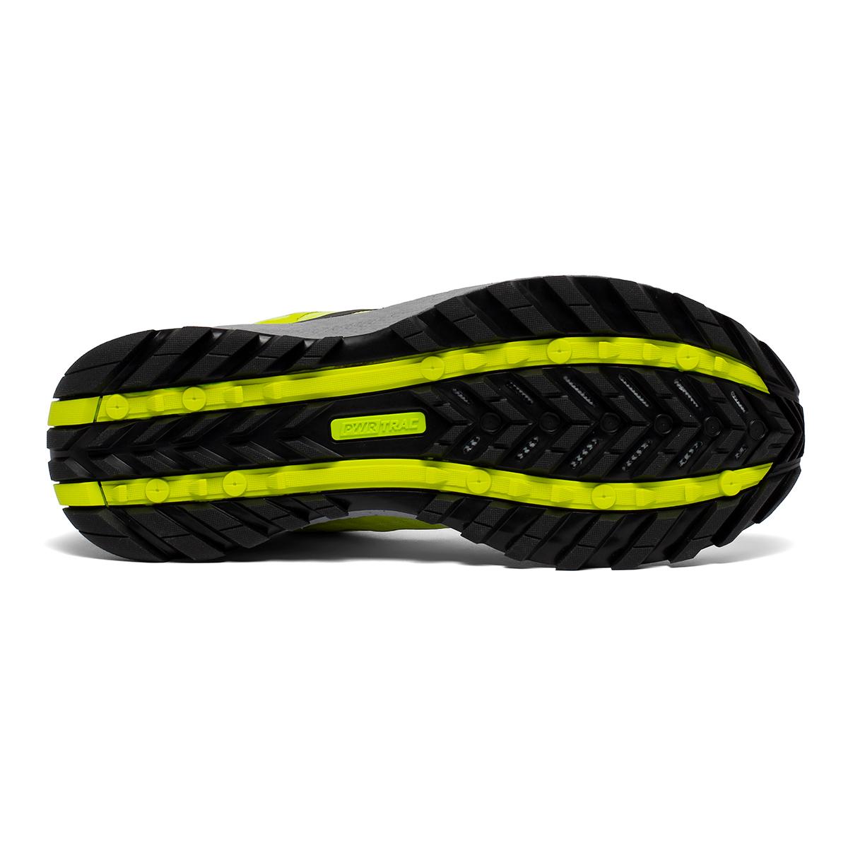 Men's Saucony Xodus 11 Trail Running Shoe - Color: Citrus/Alloy - Size: 7.5 - Width: Regular, Citrus/Alloy, large, image 4