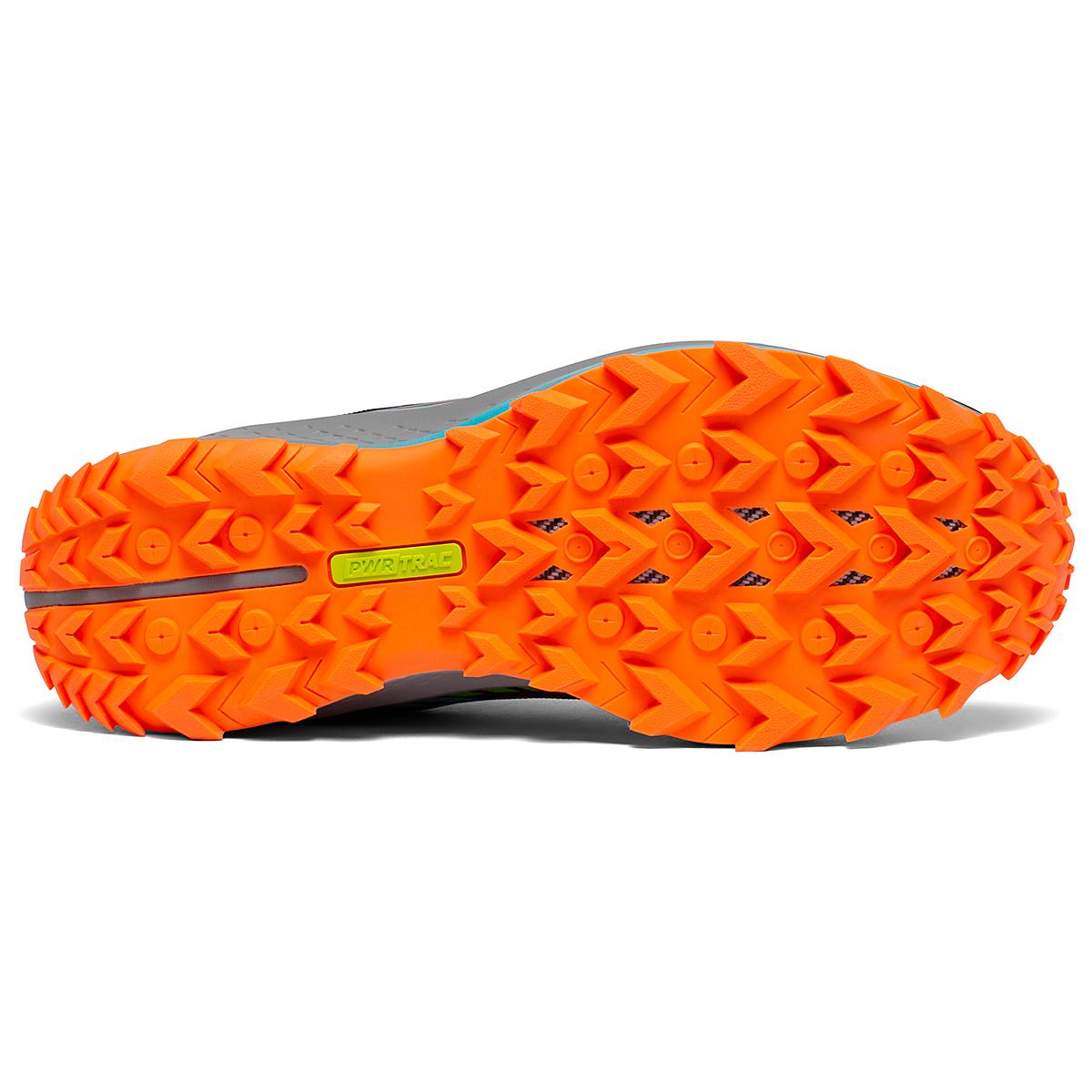 Men's Saucony Peregrine 11 Trail Running Shoe - Color: Future/Black - Size: 8 - Width: Regular, Future/Black, large, image 5