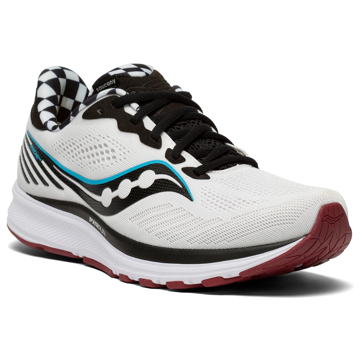 Men's Saucony Ride 14 Running Shoe - Color: Reverie - Size: 7 - Width: Regular, Reverie, large, image 3