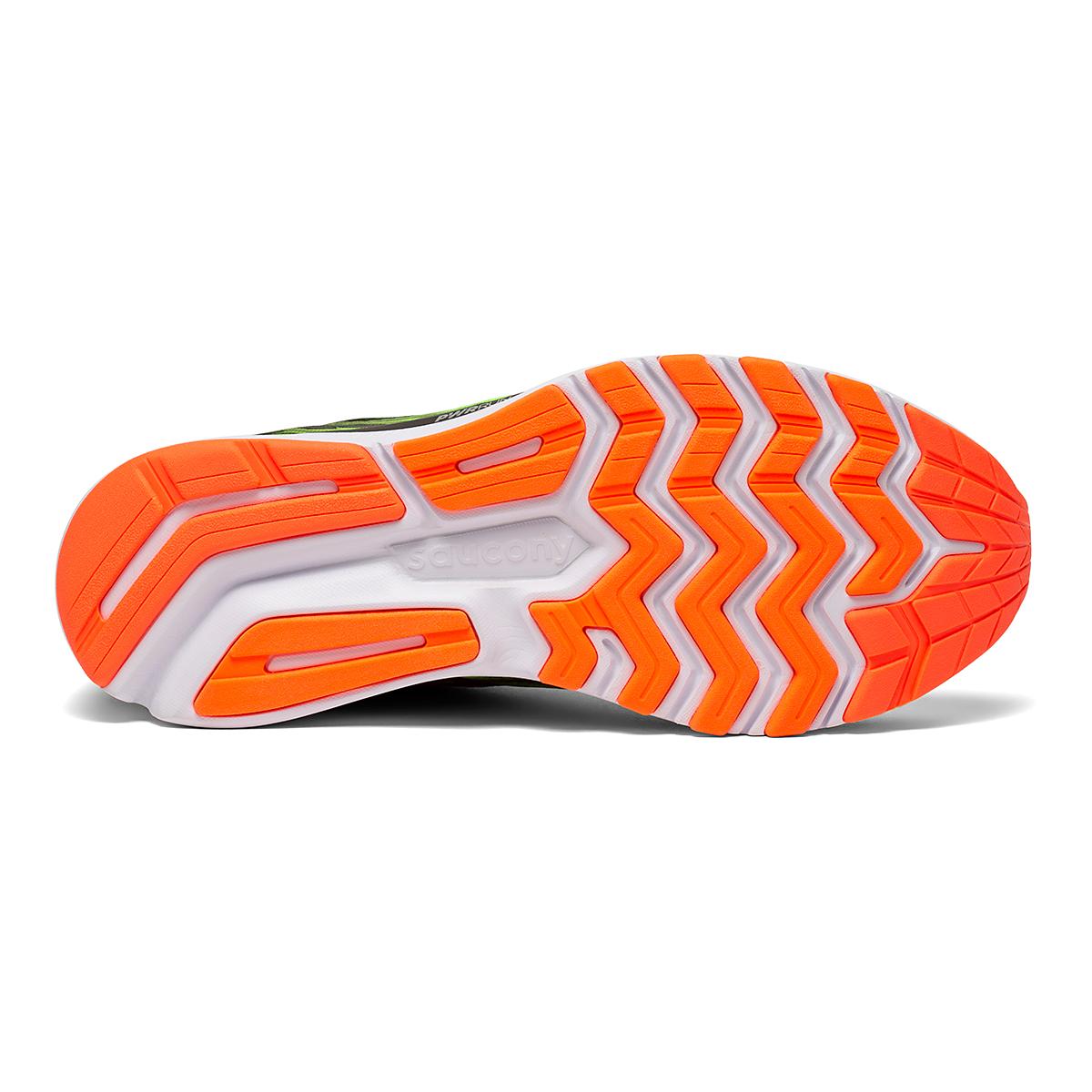 Men's Saucony Ride 14 Running Shoe - Color: Vizipro - Size: 7 - Width: Regular, Vizipro, large, image 4