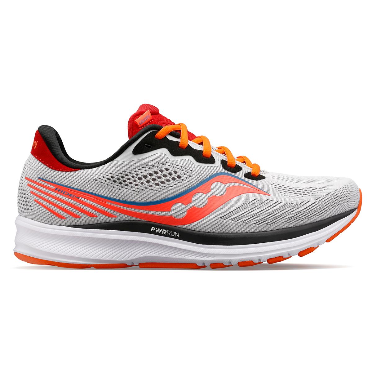 Men's Saucony Ride 14 Running Shoe - Color: Jackalope - Size: 7 - Width: Regular, Jackalope, large, image 1