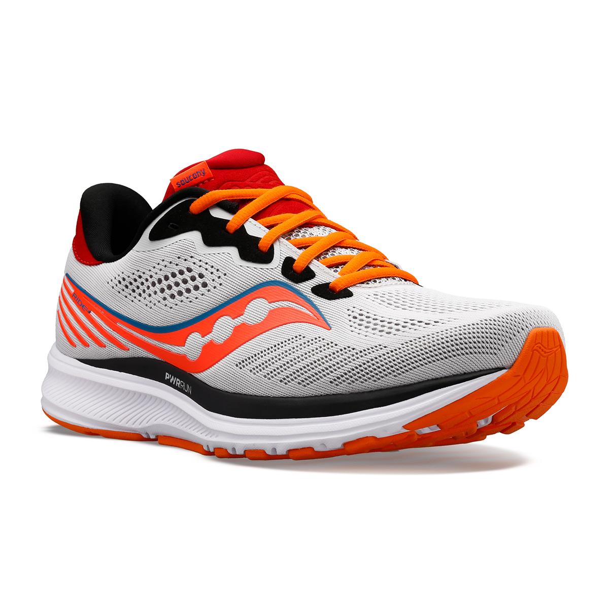 Men's Saucony Ride 14 Running Shoe - Color: Jackalope - Size: 7 - Width: Regular, Jackalope, large, image 2