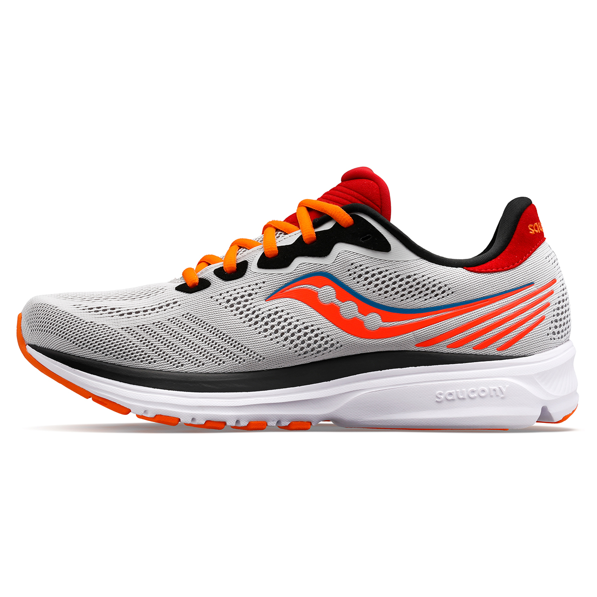 Men's Saucony Ride 14 Running Shoe - Color: Jackalope - Size: 7 - Width: Regular, Jackalope, large, image 3