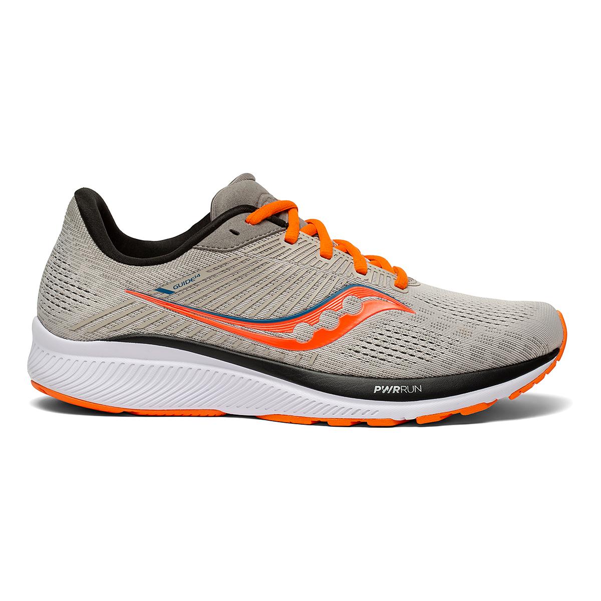 Men's Saucony Guide 14 Running Shoe - Color: Jackalope - Size: 7 - Width: Regular, Jackalope, large, image 1