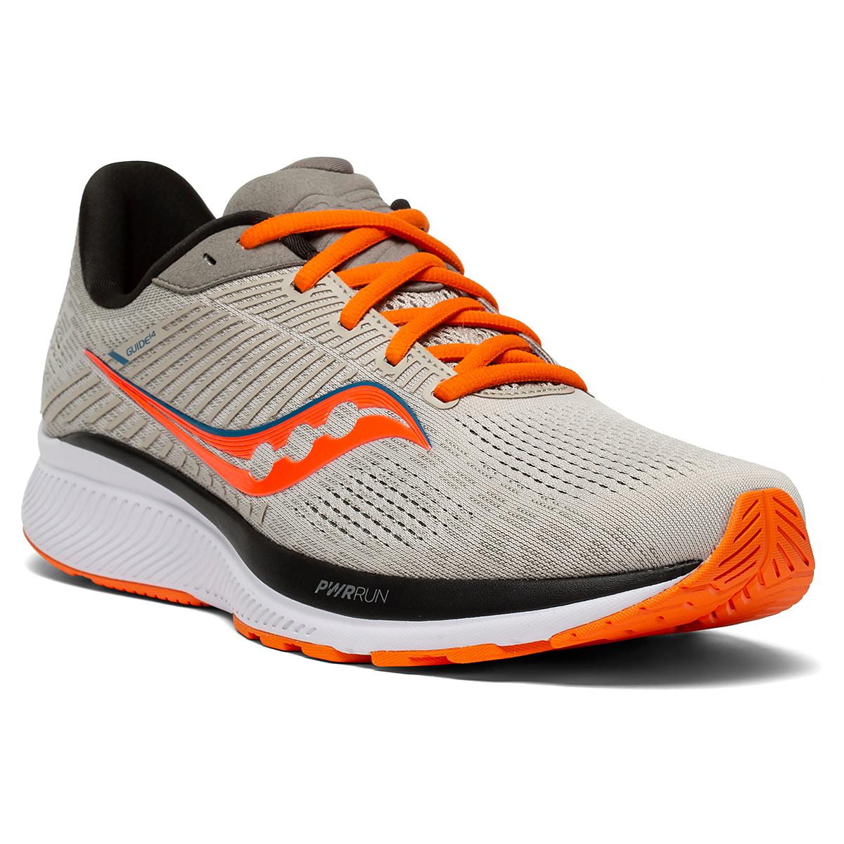 Men's Saucony Guide 14 Running Shoe - Color: Jackalope - Size: 7 - Width: Regular, Jackalope, large, image 5