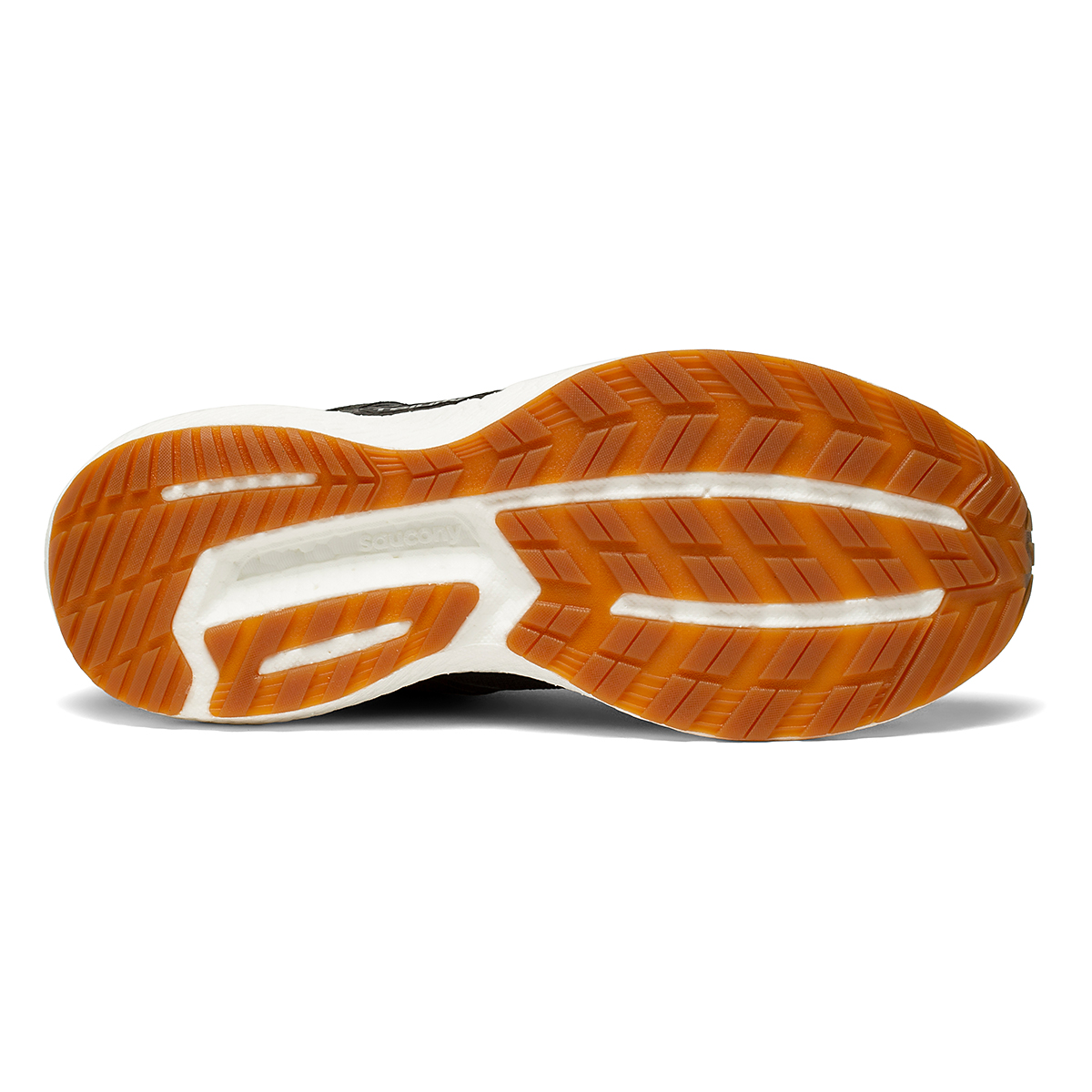 Men's Saucony Triumph 19 Running Shoe - Color: Black/Gum - Size: 7 - Width: Regular, Black/Gum, large, image 5