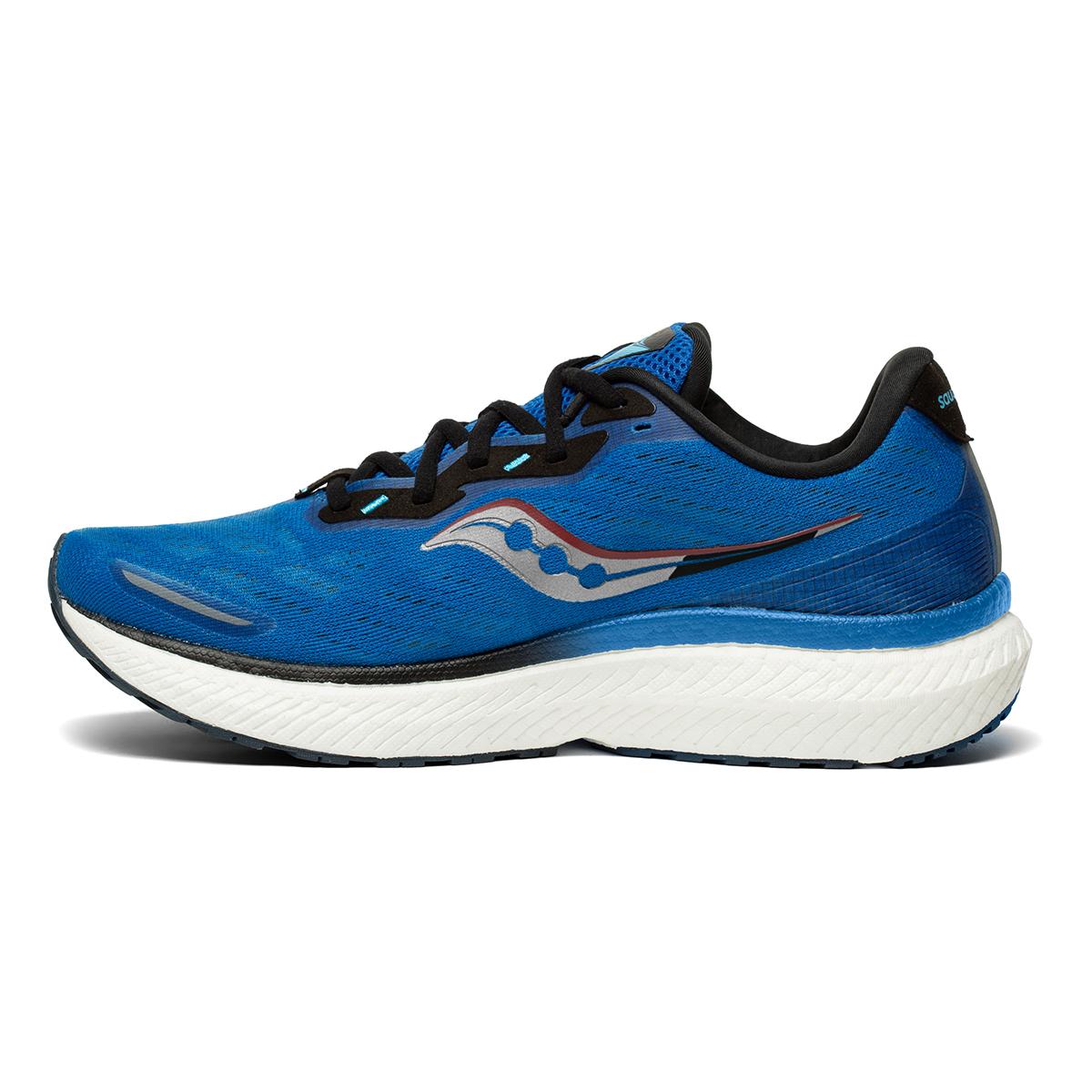 Men's Saucony Triumph 19 Running Shoe - Color: Royal / Space - Size: 7 - Width: Regular, Royal / Space, large, image 2