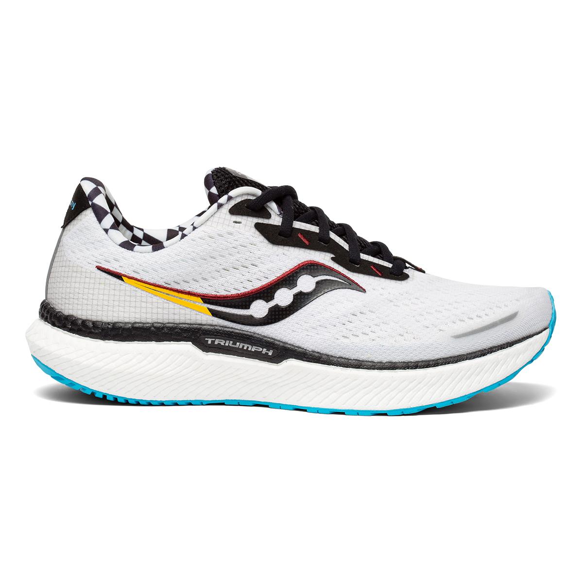Men's Saucony Triumph 19 Running Shoe - Color: Reverie - Size: 7 - Width: Regular, Reverie, large, image 1