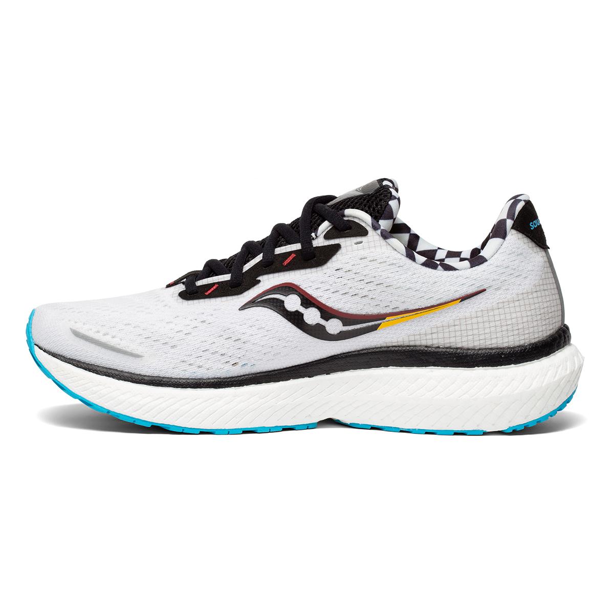 Men's Saucony Triumph 19 Running Shoe - Color: Reverie - Size: 7 - Width: Regular, Reverie, large, image 2