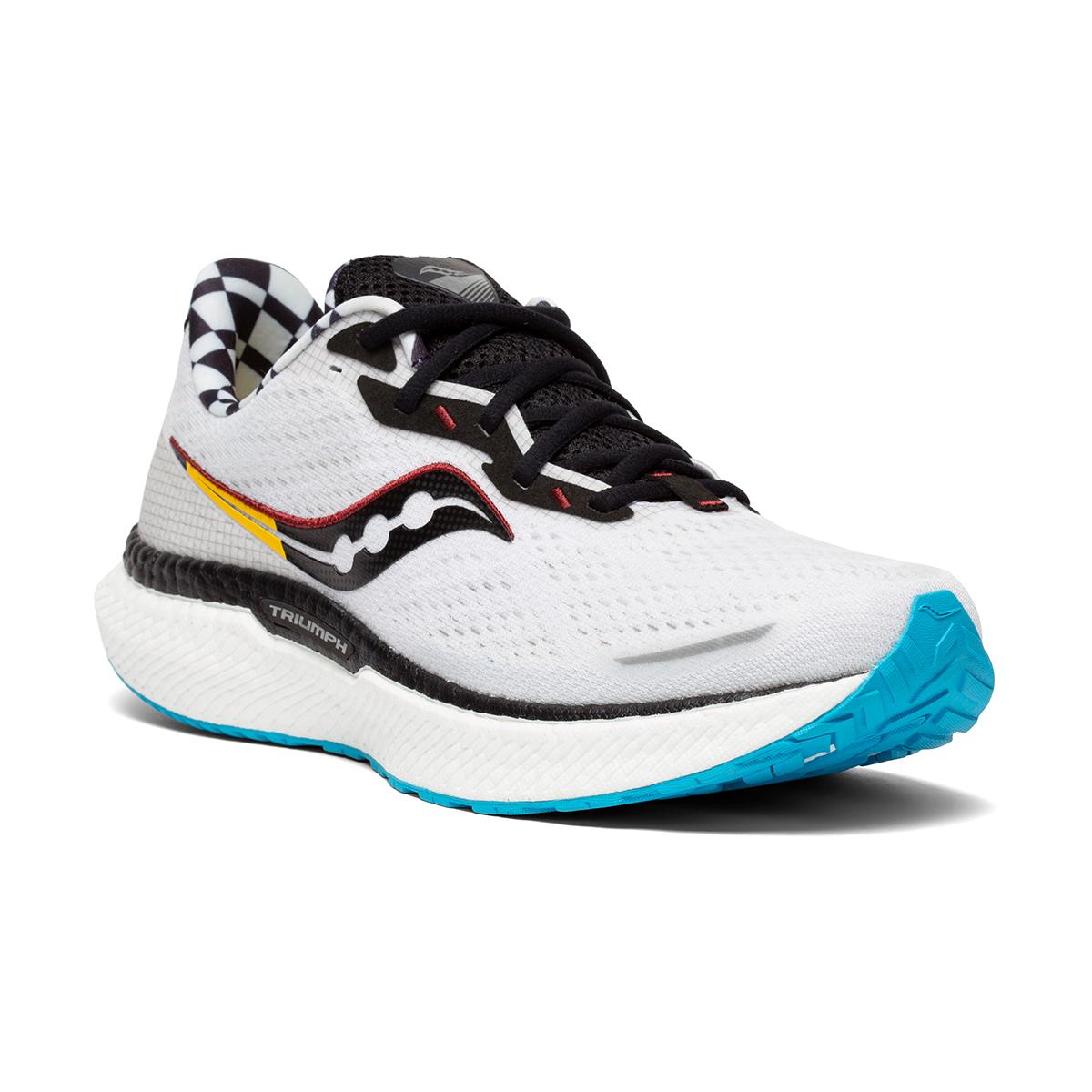 Men's Saucony Triumph 19 Running Shoe - Color: Reverie - Size: 7 - Width: Regular, Reverie, large, image 3