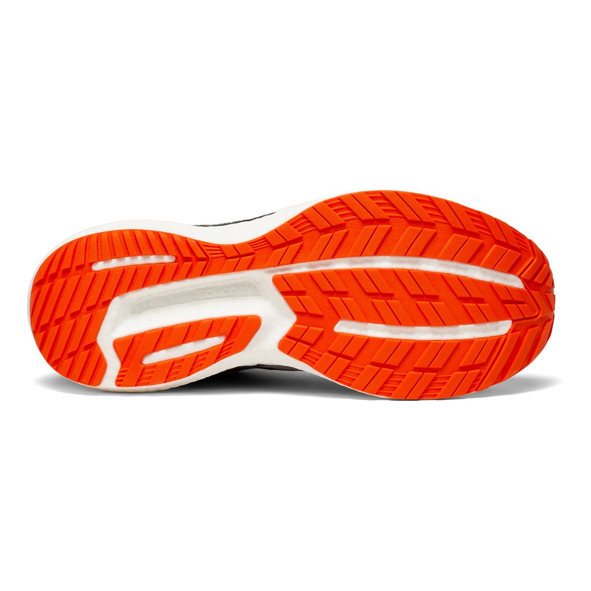 Men's Saucony Triumph 19 Running Shoe - Color: Alloy / Fire - Size: 7 - Width: Wide, Alloy / Fire, large, image 4