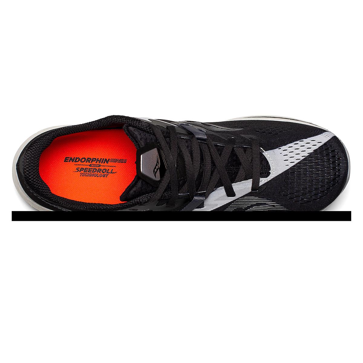 Men's Saucony Endorphin Pro 2 Running Shoe - Color: Black/White - Size: 7 - Width: Regular, Black/White, large, image 3