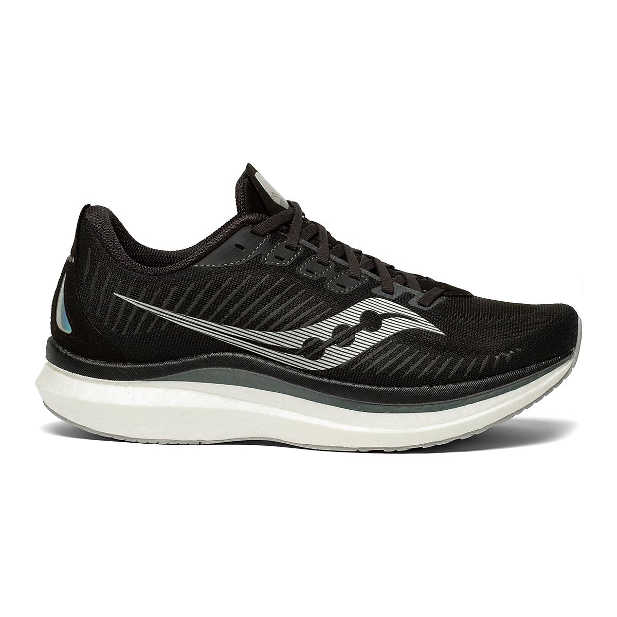 Men's Saucony Endorphin Speed 2 Running Shoe - Color: Black/Shadow - Size: 7 - Width: Regular, Black/Shadow, large, image 1