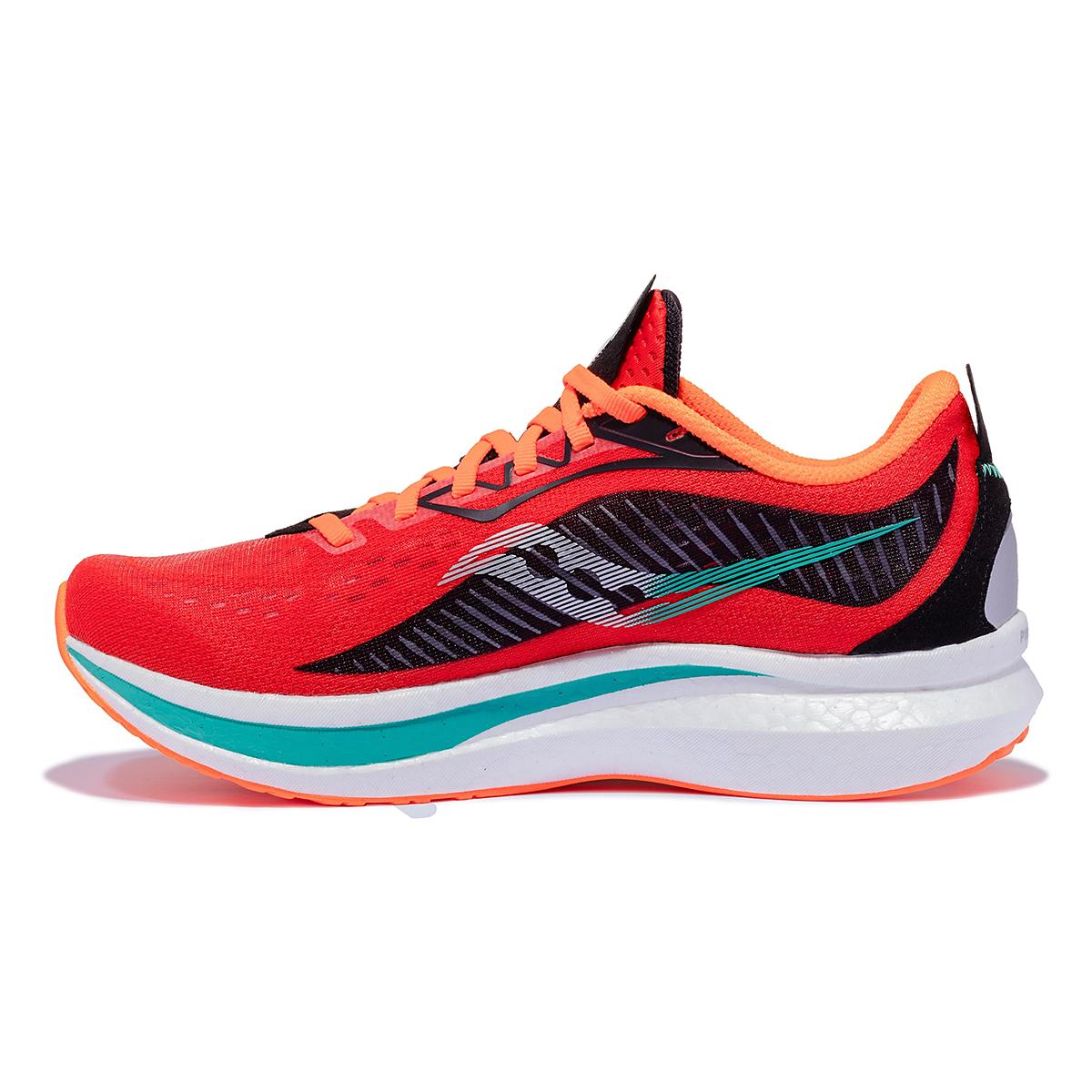 Men's Saucony Endorphin Speed 2 Running Shoe - Color: Scarlet / Black - Size: 7 - Width: Regular, Scarlet / Black, large, image 2