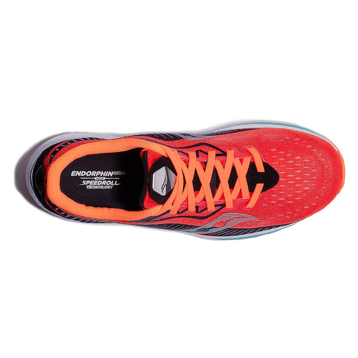Men's Saucony Endorphin Speed 2 Running Shoe - Color: Scarlet / Black - Size: 7 - Width: Regular, Scarlet / Black, large, image 3
