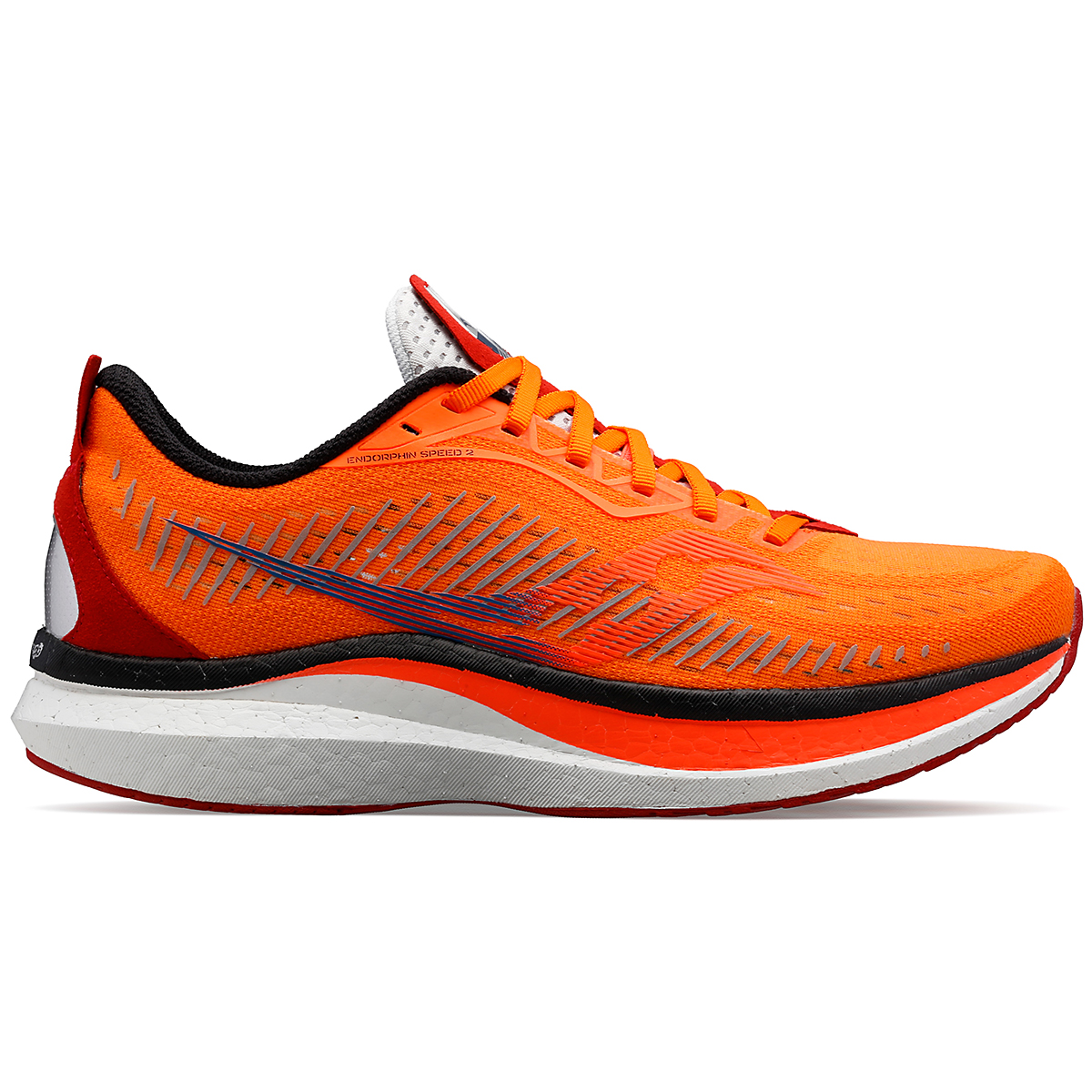 Men's Saucony Endorphin Speed 2 Running Shoe - Color: Jackalope - Size: 7 - Width: Regular, Jackalope, large, image 1