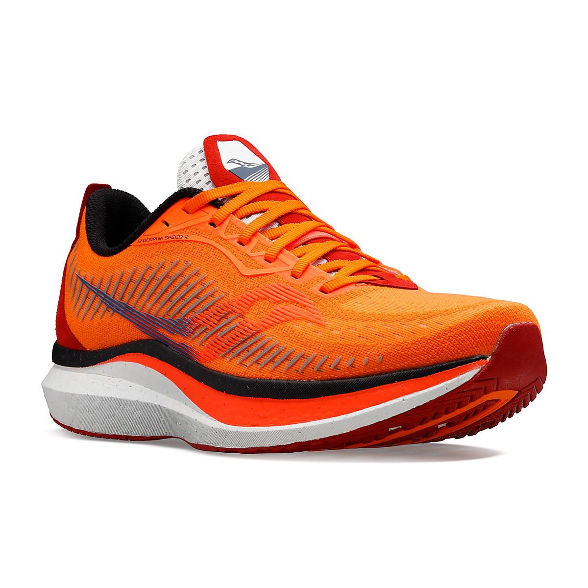 Men's Saucony Endorphin Speed 2 Running Shoe - Color: Jackalope - Size: 7 - Width: Regular, Jackalope, large, image 5