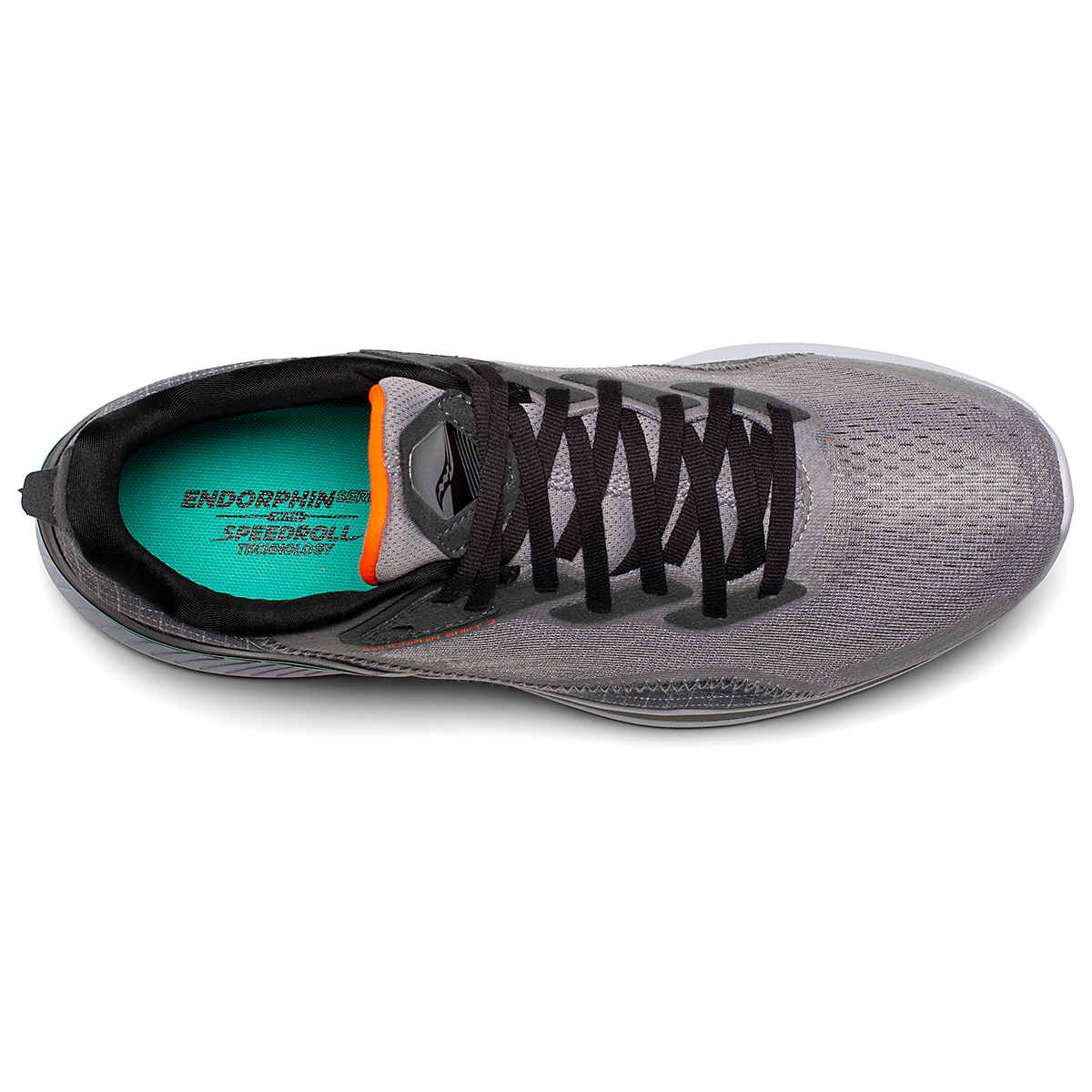 Men's Saucony Endorphin Shift 2 Running Shoe - Color: Alloy / Jade - Size: 7 - Width: Regular, Alloy / Jade, large, image 3