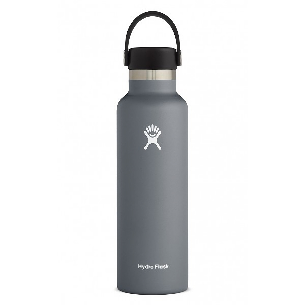 Hydro Flask 21 oz Standard Mouth Bottle - Color: Stone Size: One Size, Grey, large, image 1