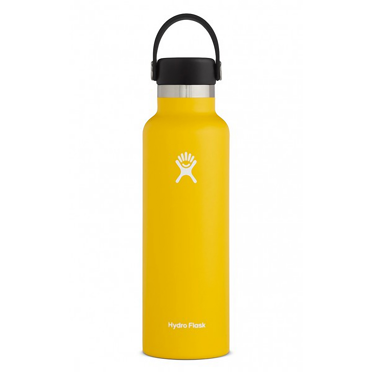 Hydro Flask 21 oz Standard Mouth Bottle - Color: Sunflower Size: One Size, Yellow, large, image 1