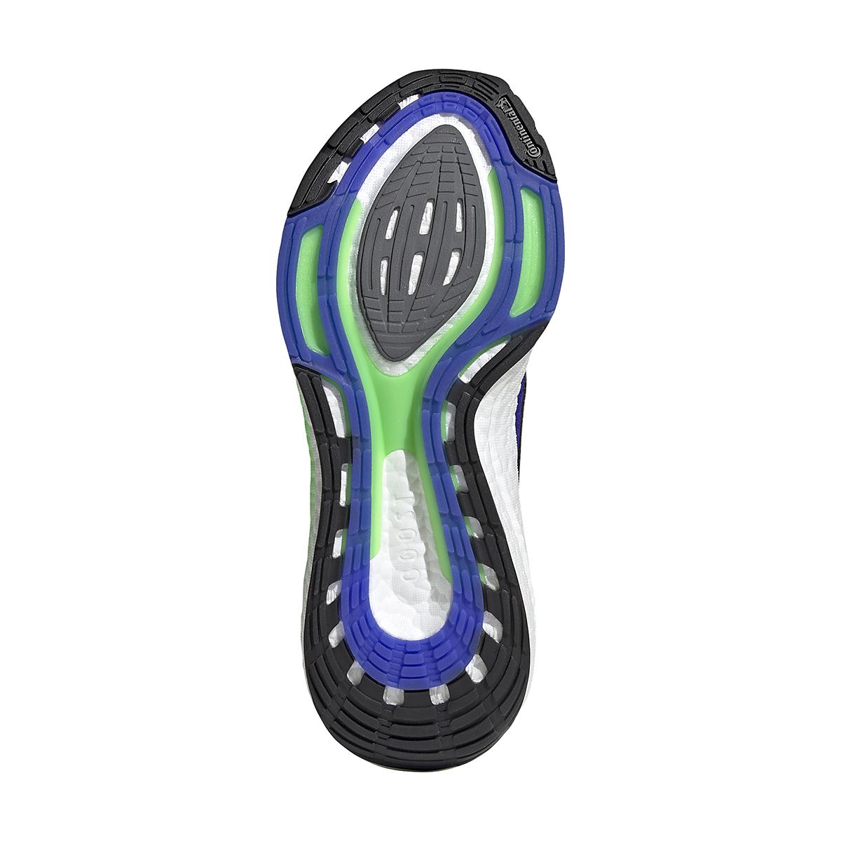 Men's Adidas UltraBOOST 21 Running Shoe - Color: Sonic Ink/Core Black/Screaming Green - Size: 6 - Width: Regular, Sonic Ink/Core Black/Screaming Green, large, image 7