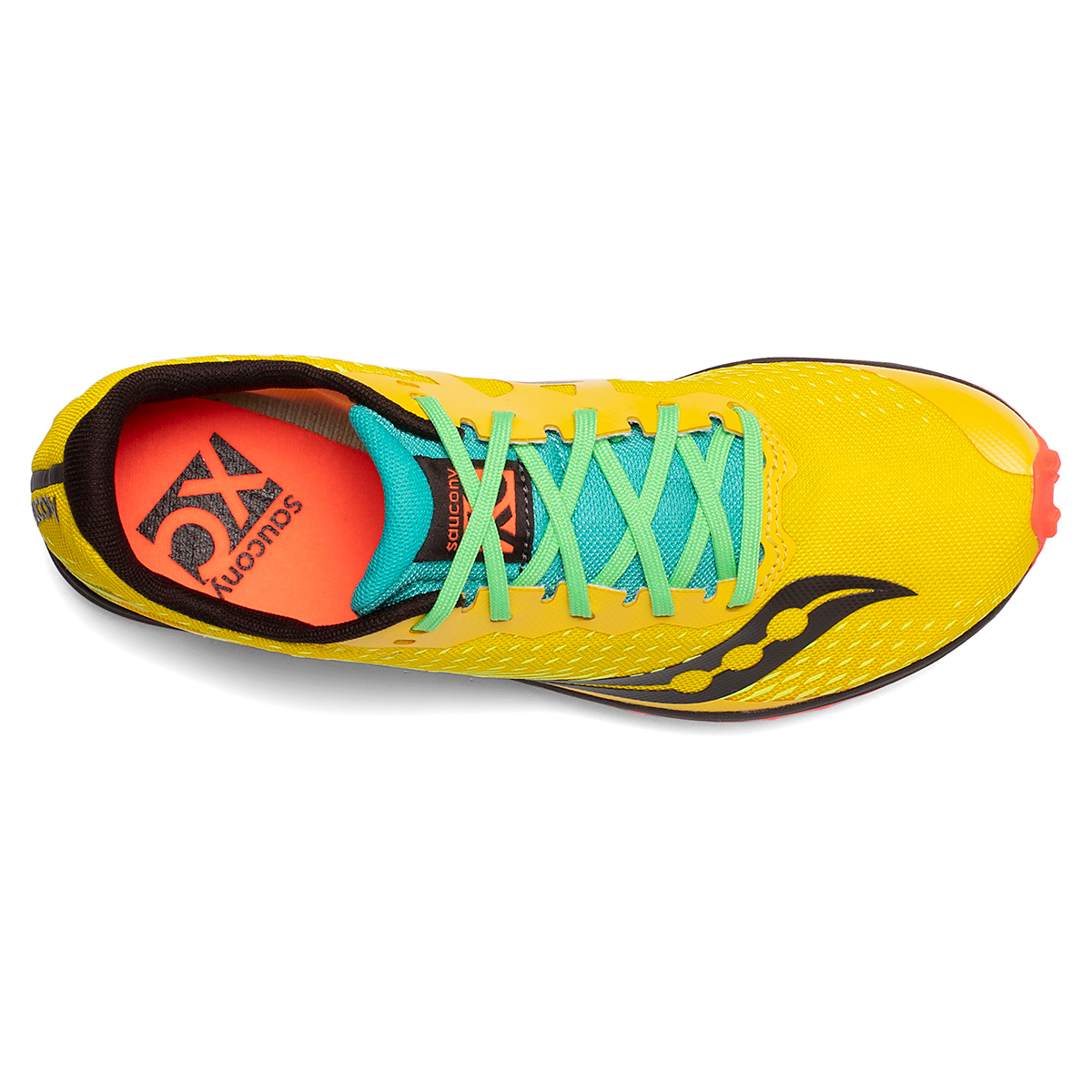 Men's Saucony Kilkenny XC8 Track Spikes - Color: Yellow Mutant - Size: 8 - Width: Regular, Yellow Mutant, large, image 3