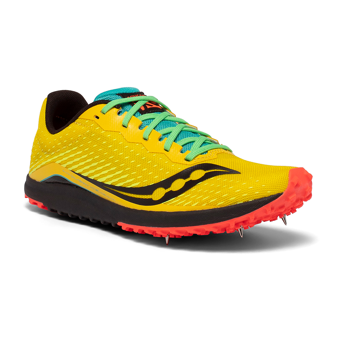 Men's Saucony Kilkenny XC8 Track Spikes - Color: Yellow Mutant - Size: 8 - Width: Regular, Yellow Mutant, large, image 5